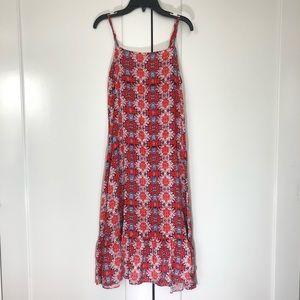 Nanette Lepore Orange Bingo Flower Print Dress 2